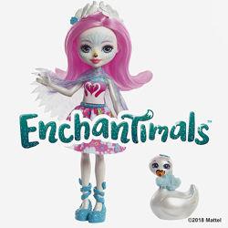 Кукла Enchantimals Лебедь Саффи