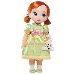 Кукла Disney Animators Анна Холодное сердце Дисней Аниматоры Anna Frozen
