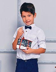 Рубашка с Син. Бабочкой-116--128см- LC Waikiki-116--140см- Подбор Комплекто