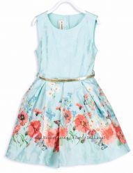 Нарядное Платье-Маки- с поясом-122и128- Платья с поясом-110--146-LC Waikiki