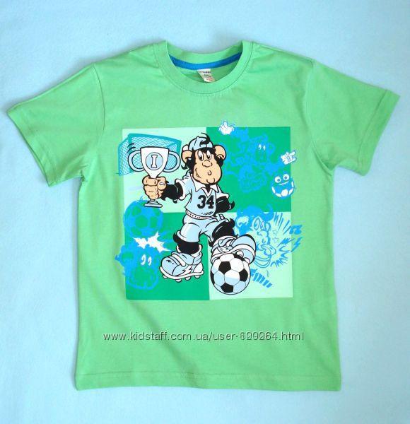 Футболка-принт-Футбол-122см- Футболки-Майки с принтом-110-134- LC Waikiki