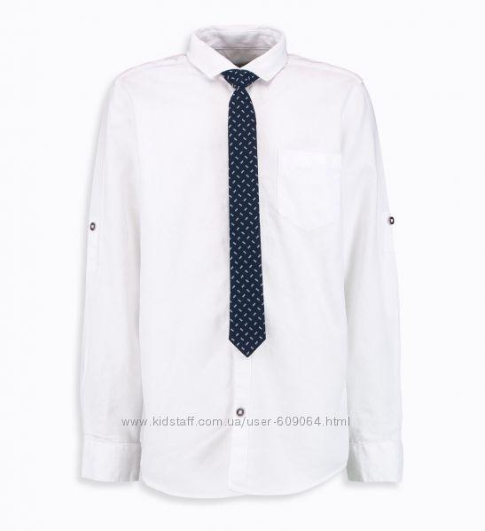 Рубашка/Галстук-128--140, 152см- Нарядные-Школьные Рубашки-Waikiki 116-152