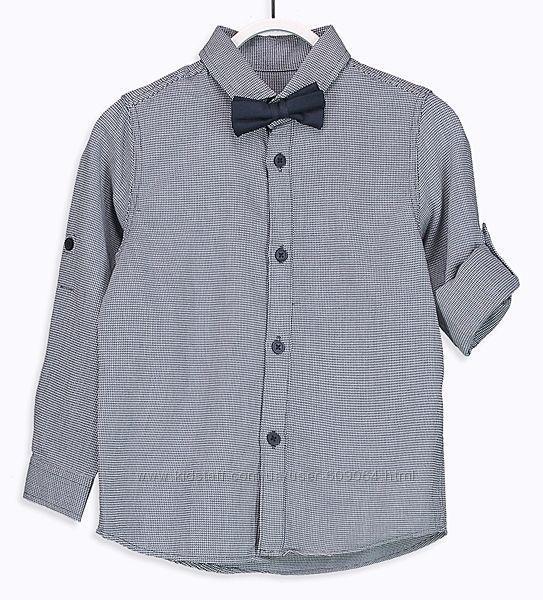 Рубашка/Синяя Бабочка-140и146см- Нарядные-Школьные Рубашки-Waikiki 116-152