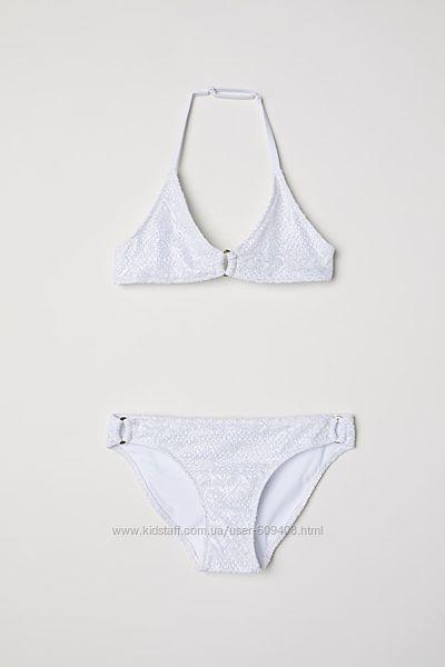 H&M перламутровый купальник 158-164 см