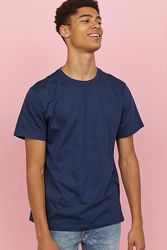 H&M хлопоковая футболка size S