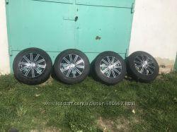 Диски Enzo 103, R17, r17, 7j17 H2, титани, колеса, шини 22565 r17