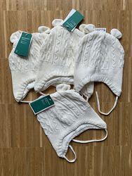 Шапочки с ушками для самых маленьких H&M