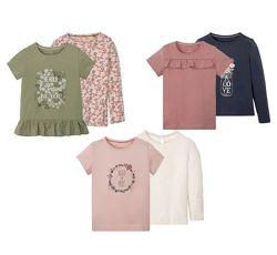 Набор футболок для девочек Lupilu Германия