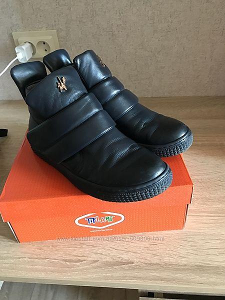 Демисезонные ботинки для девочки 36 р-р
