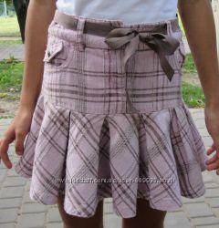 Отличная юбка CQ на девочку 7-9 лет в очень хорошем состоянии