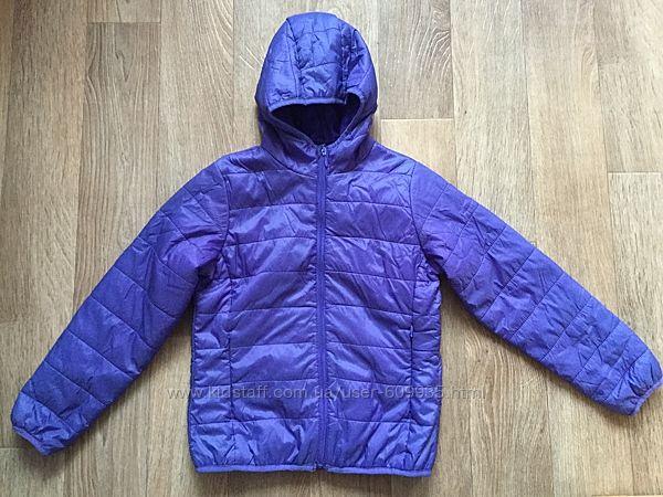 Отличная сиреневая  деми куртка  Pepperts на девочку р. 146-152 см