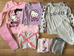 Пижамы, ночнушки на девочку 5-11 лет
