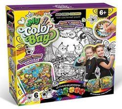 Набор для творчества Danko Toys сумка раскраска двухсторонняя, my color bag