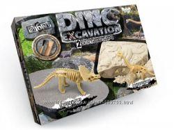 Игра активная Danko Toys - раскопки динозавром, насекомых и камней