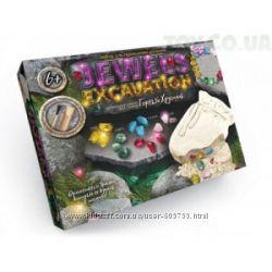 Игра научная, активная Danko Toys раскопки насекомых и драгоценных камней