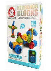 Конструктор игольчатый аналог Bristle - Hedgehog Blocks MH003 - 116 деталей