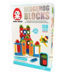 Конструктор игольчатый аналог Bristle - Hedgehog Blocks MH004 - 150 деталей