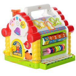 Сортер Теремок Joy Toy 9196 музыкальная игрушка с пианино и ключиком