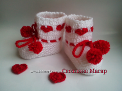 Пинетки Любимка носочки новорожденным