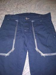 Утепленные штаны  школьнику недорого