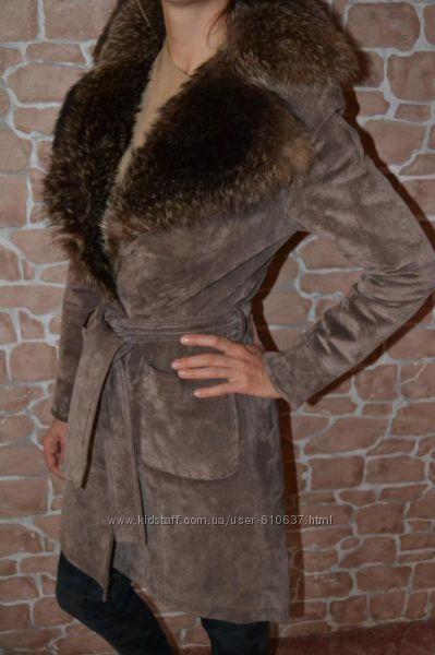 Пальто замшевое от Dorothy Perkins
