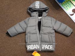 Зимняя куртка на мальчика на флисе HM 4-5 ЛЕТ