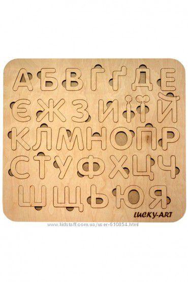Деревянные алфавиты, цифры