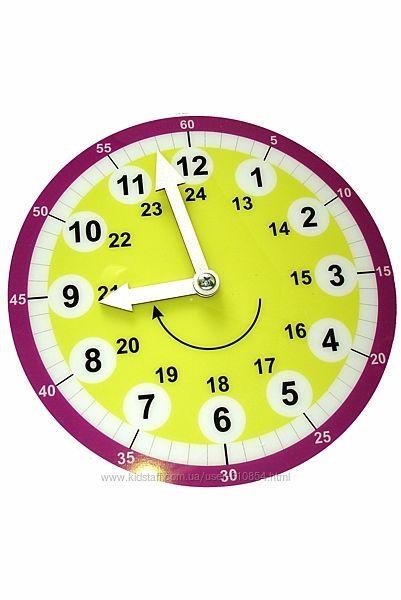 Навчальний дитячий годинник-циферблат