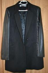 Женское легкое пальто-пиджак на осень