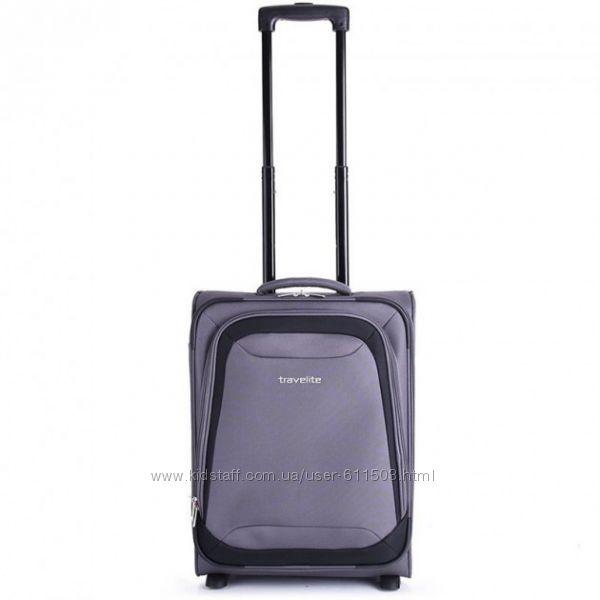 Недорого текстильный чемодан, ручная кладь, Германия качество