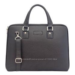 Кожаная сумка-портфель для ноутбука KARYA Турция