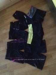 Шорты лосины для бега и фитнеса Nike, adidas, puma, asics