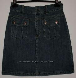 Юбка джинсовая стрейч фирменная STREET ONE - ОБ 90 см