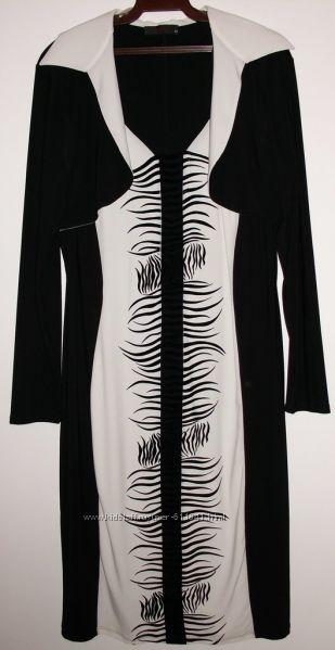 Платье черное стрейч VERDA Турция - р. 54-56