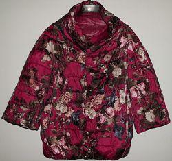 Куртка модная двухсторонняя рукав три четверти р. 44-46