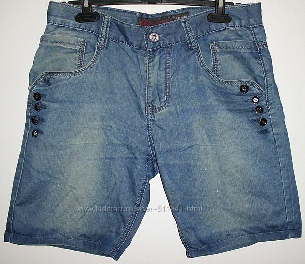 Шорты джинсовые голубые B. S. J. Jeans - р.32 48-52