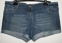 Шорты джинсовые стрейч E-vie Европа - р.44 50-54