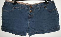 Шорты джинсовые стрейч Retro Short Denim Co Испания - р.46 52-54