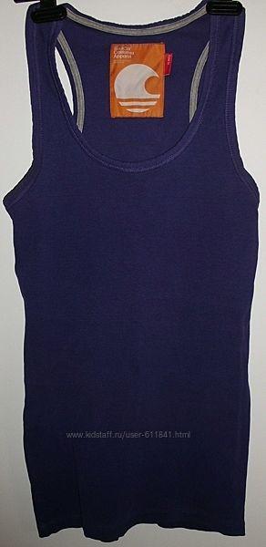 Майка фиолетовая хлопок стрейч SoulCal California Apparel - р.48-50 14