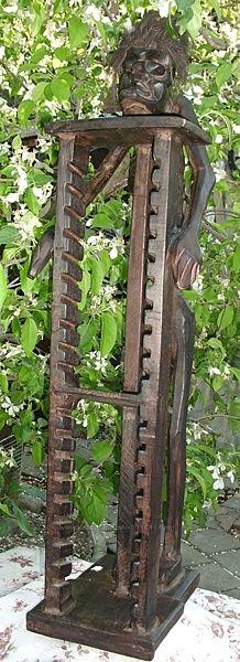 Подставка скульптура дерево 90 см Индонезия