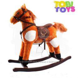 Лошадка-качалка K05 марки Tobi Toys. Польша. Oz.