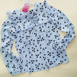 Распродажа. Шифоновая блуза для девочки ТМ Albero. 140 см