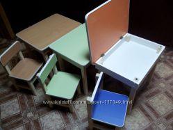 Детская мебель столы и стулья