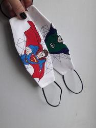 Маски с супергероями