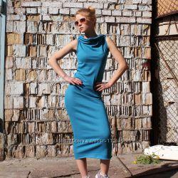 Платье трикотажное без швов