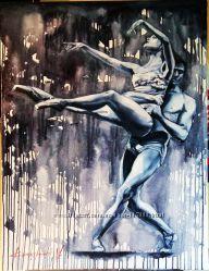 Картина маслом Танец любви