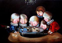 Картины Гапчинской в детскую комнату под заказ