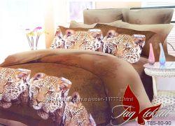 Яркое постельное белье Животные, с эффектом 3D ТМ TAG