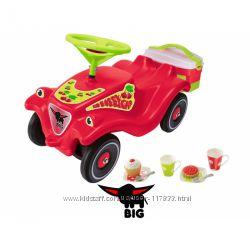 Машинка-Каталка с корзиной Bobby car classic cherry для пикника Big 56095