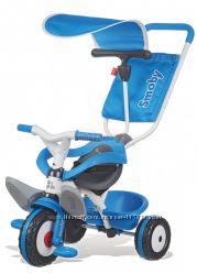 Велосипед трехколесный Baby Balade синий Smoby 444208